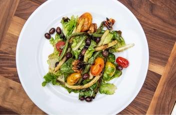 Grilled Garden Vegetable Salad