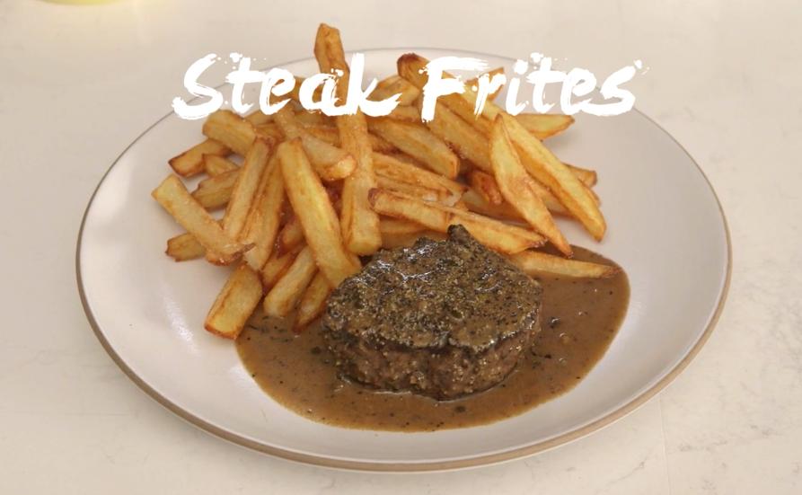 Steak Au Poivre with Frites